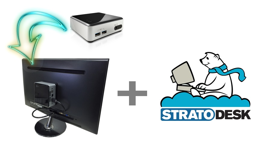NUC AND STRATODESK