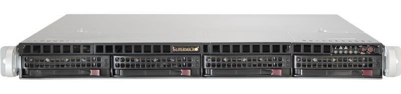 1U Single Processor 4x Drive Bays